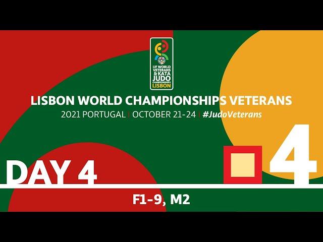 Day 4 - Tatami 4: World Championships Veterans 2021