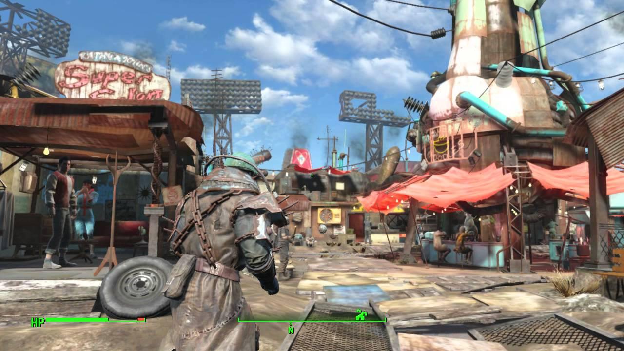 Diamond City Fallout