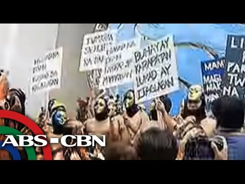 TV Patrol: Administrasyong Aquino, tinira sa Oblation run sa UP Diliman