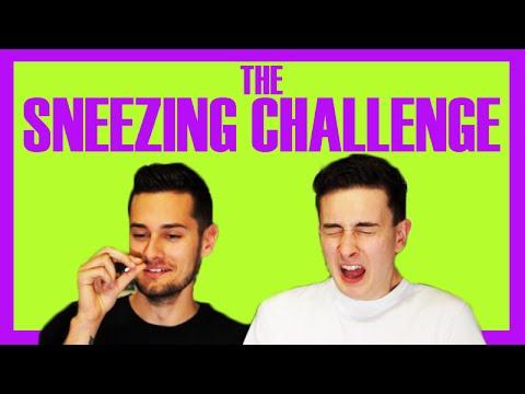 THE SNEEZING CHALLENGE
