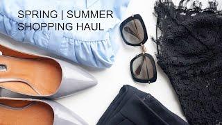 Spring | Summer Shopping Haul...H&M, ZARA, Topshop, Vesper Dresses
