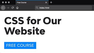 Day 29: The CSS for Our Website (30 Days to Learn HTML & CSS)