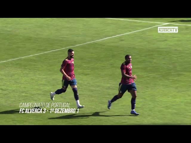 FC Alverca 3 - 1º Dezembro 1 Highlights
