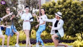 趙雅芝領銜眾明星拍合照  網友:滿屏都是腿
