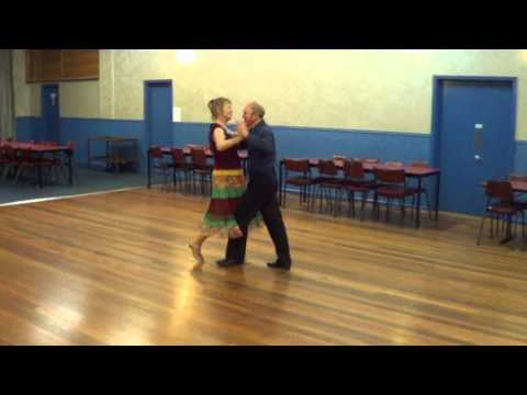 Calypso Stroll Sequence Dance Demonstration