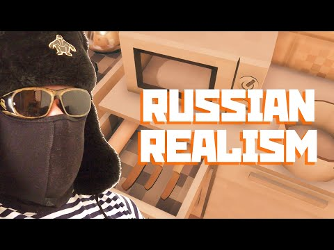 Wall Carpets And Pink Sausage - True Russian Realism