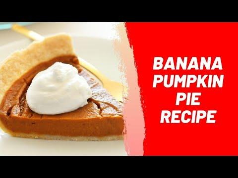 Banana Pumpkin Pie Recipe