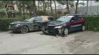 """Carabinieri intercettano """"banda della BMW"""", arrestato albanese dopo inseguimento"""