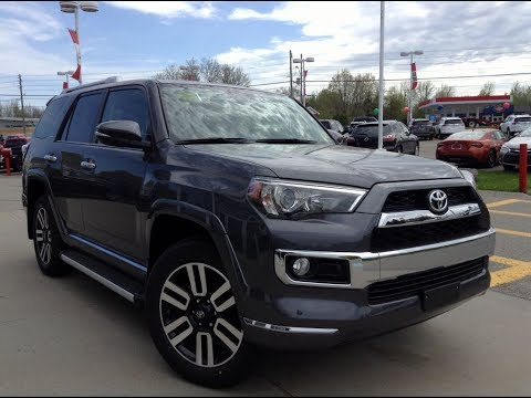 new 2017 toyota 4runner limited review magnetic grey. Black Bedroom Furniture Sets. Home Design Ideas