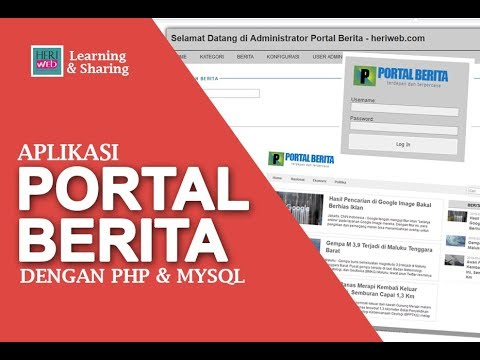 Membuat Aplikasi Berita Dengan Php Dan Mysql