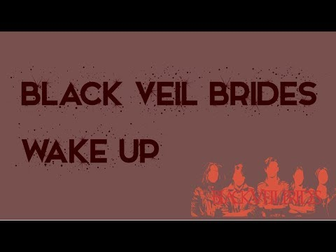 Black Veil Brides - Wake Up (instrumental w/ background vocals)