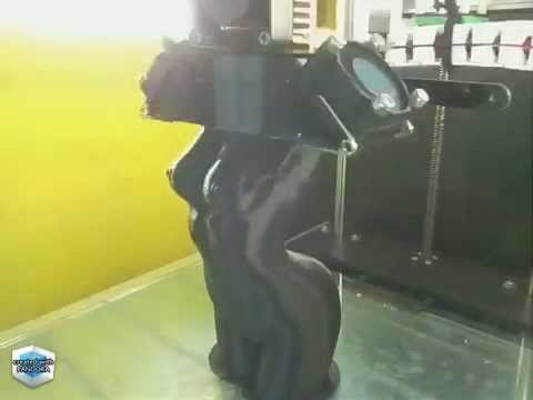 3D Printing Time Lapse - Woman Body