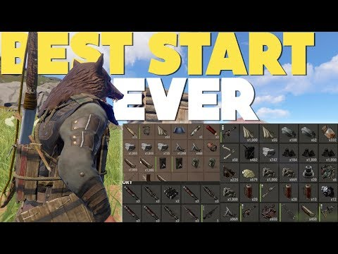 RUST | BEST START EVER (Rust Raiding & PvP Highlights)