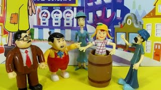 EL CHAVO DEL OCHO: CHAVES, NHONHO, SEU BARRIGA, SEUMADRUGA, BRUXA DO 71, litlle  plastic #toys