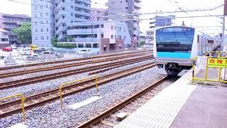 JR東日本  E233系  クハE233形 クハE233 1065  京浜東北線  各駅停車大宮行 南浦和駅