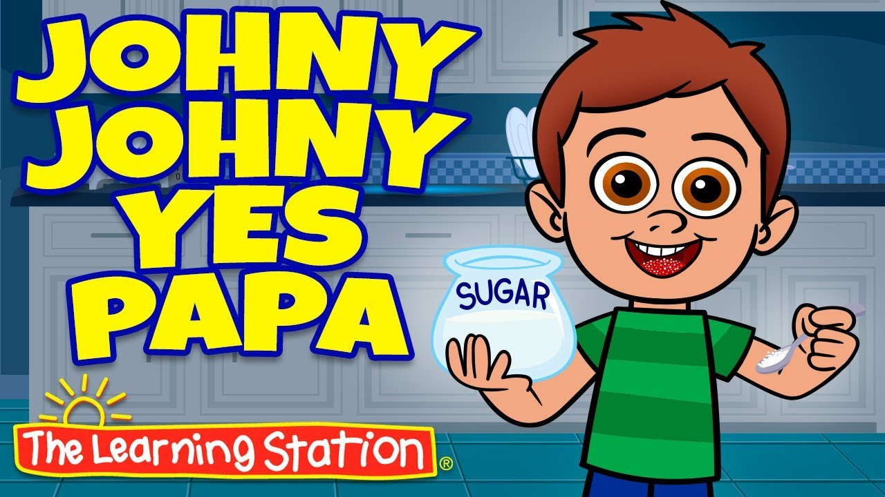 Johny Johny Yes Papa Song Challenge ♫ Kid Manners ♫ Baby Shark Song ♫  Rhymes by The Learning Station