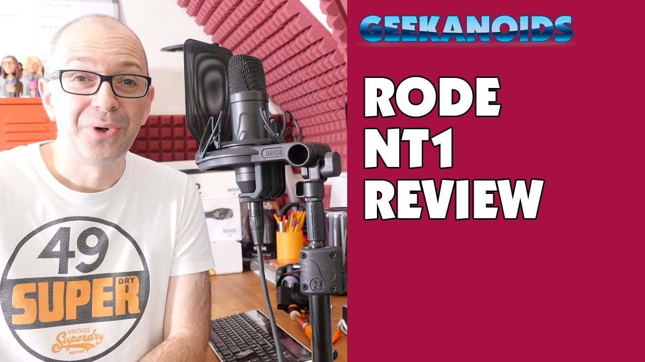 rode nt1 cardoid condenser microphone complete recording kit audio test review 4k youtube. Black Bedroom Furniture Sets. Home Design Ideas