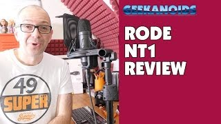 rode nt1 cardoid condenser microphone complete recording kit audio test review 4k