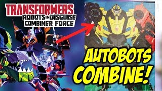 Transformers Robots In Disguise: Combiner Force - ALL Autobots Combine?! (POWER LINK)