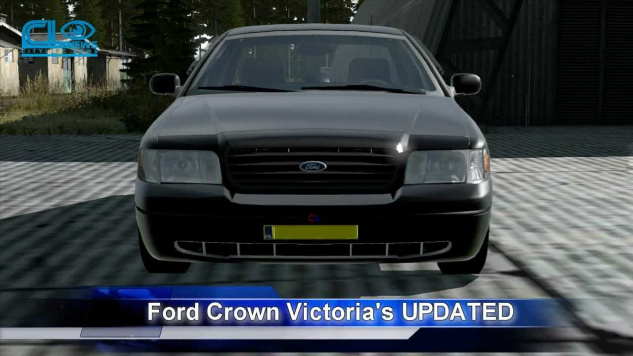 Spokane Used Cars >> City Life RPG 3 - Ford Crown Victoria Updated - YouTube