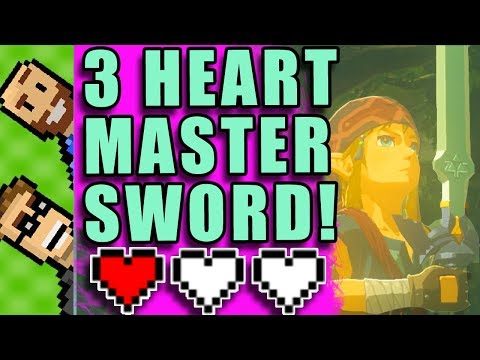 MASTER SWORD 3 HEARTS! | YOU CHOOSE! Tell Us How to Play ZELDA BotW | The Basement | Ep58
