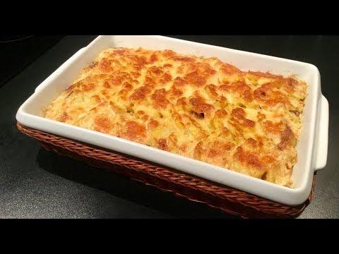 gratin-de-pommes-de-terre-aux-champignons-et-au-thon