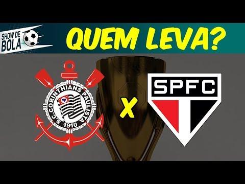 CORINTHIANS ou SÃO PAULO: Quem LEVA o TÍTULO do Paulistão 2019? | SHOW DE BOLA (15/04/19)