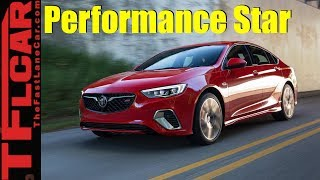 Performance Star: 2018 Buick Regal GS AWD Los Angeles Debut