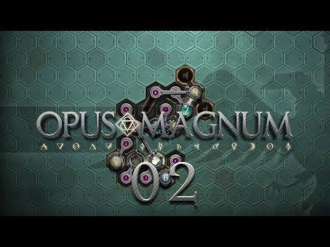 OPUS MAGNUM | MACHINE OIL #02 Amazing Alchemist Game - Let's Play / Gameplay