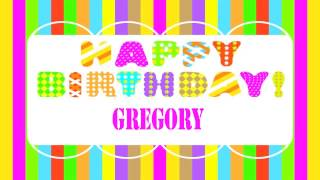 Gregory   Wishes & Mensajes - Happy Birthday