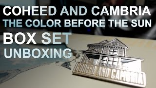 UNBOXING Coheed & Cambria The Color Before the Sun Box Set