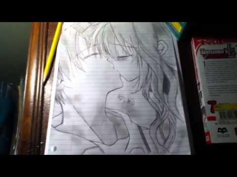 """Drawing Of Haine Otomiya and Takanari Togu """"The Gentlemen's Alliance Cross"""""""