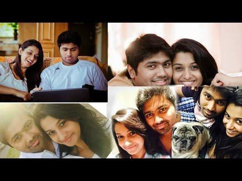 Kalyanam Mudhal Kadhal Varai Fame Priya Bhavani Sankar With Her Fiancé |  KMKV Priya