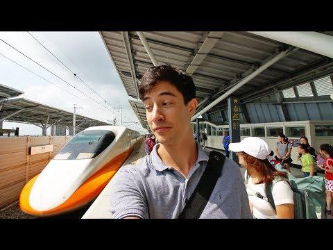 Taiwan High Speed Rail (HSR) 1st Class Review | 300km/h BULLET TRAIN Chiayi to Taipei