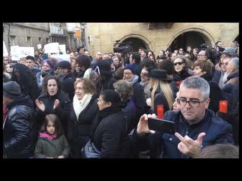 Manifestación en Verín en contra del cierre del paritorio 9 12 19