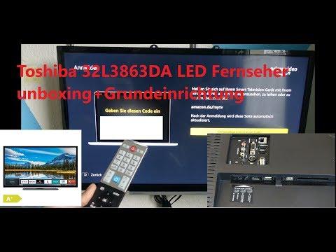 toshiba-32l3863da-led-fernseher-unboxing+grundeinrichtung