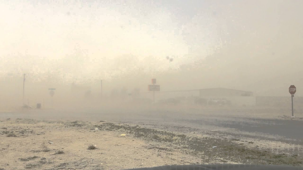 Blowing Dirt From SE Amarillo