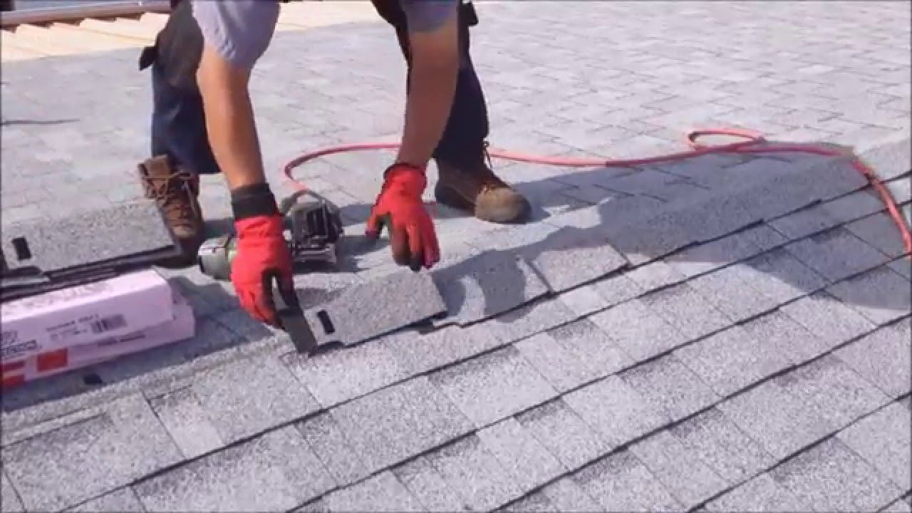 Ridge Cap Shingle Application Weathertight Roofing Hemet – How To Install Roof Cap Shingles