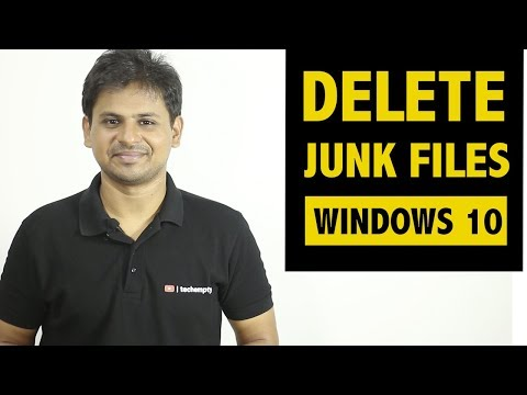 Remove Junk Files to Cleanup Your Windows 10 Computer