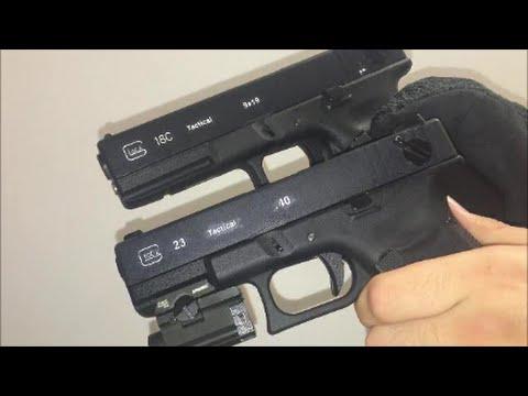 Dual Wield Full Auto Airsoft Glocks! (G18c G23)
