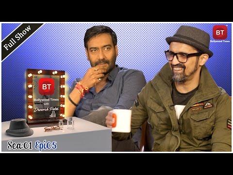 Ajay Devgn talks Shivaay | Kajol | Comic Con & More with Devansh Patel | Full Epi | Season 1 Epi 5