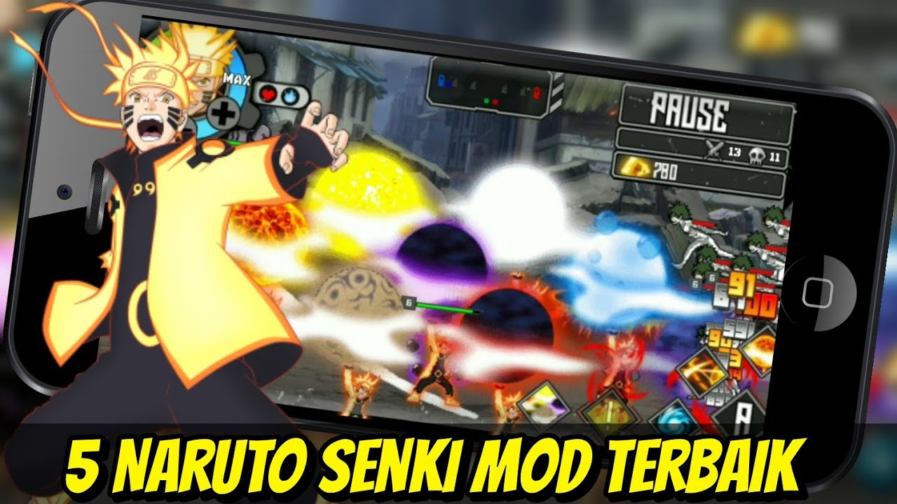 Download Naruto Senki Mod Apk Full Character Terbaru