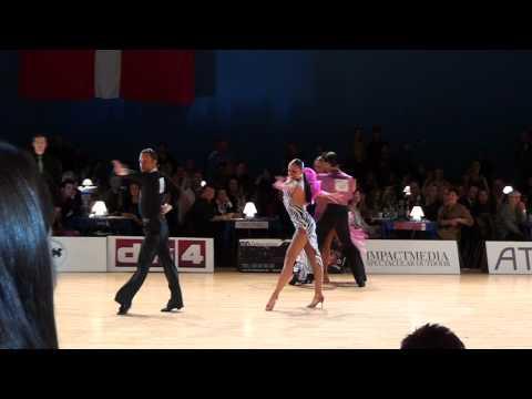 Copenhagen Open 2011 IDSF Grand Slam Adult Latin semifinal cha cha
