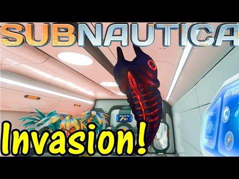 Let's Play Subnautica #43: Invasion!
