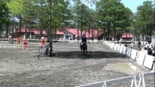 2010年5月22日「北海道新緑馬術大会」(於:ノーザンホースパーク)で馬術競技大...