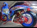 Modif Motor Matic Road Race Honda Scoopy Thailook Style