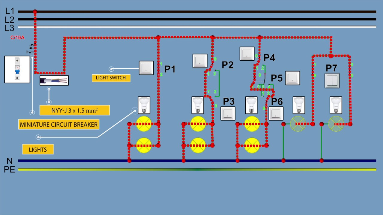 How To Wire Light Switch | One Way Light Switch | Two Way Light Switch Wiring In A Light Switch on testing a light switch, wiring diagram switch, relay wiring switch, reverse light switch, power a light switch, fog light switch, 3 way light switch, wiring lights in series, single pole light switch, grounding a light switch,