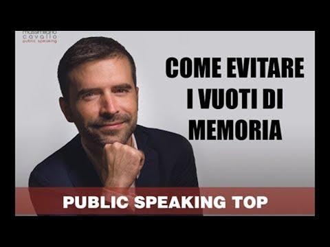 Immagine per Paura di parlare in pubblico: i vuoti di memoria