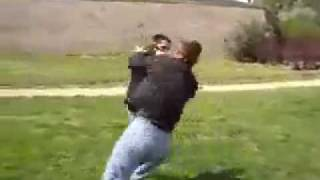 Боевое самбо или тренировки скинхэдов