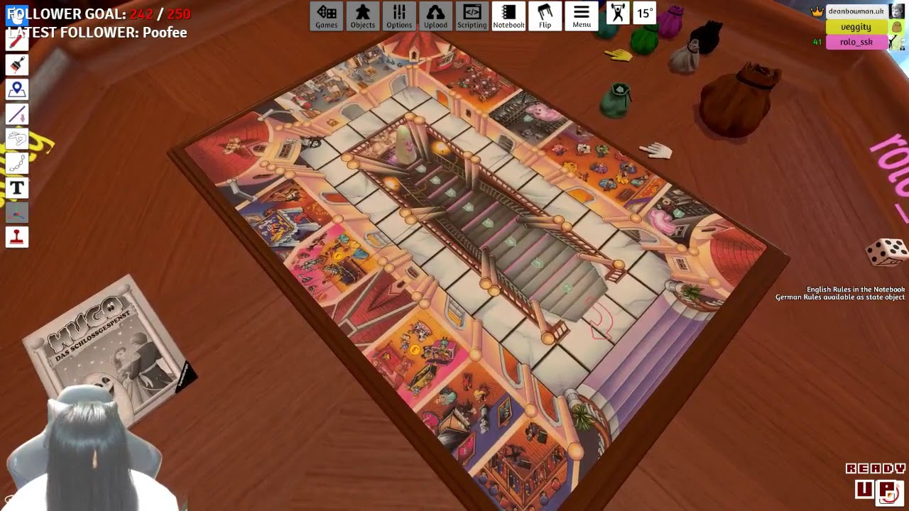 spooooooopy board meeting ghost party tabletop simulator with team